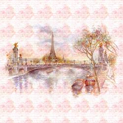 Наклейки Из Парижа с любовью
