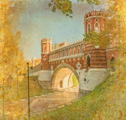 Наклейки Мост в Царицино