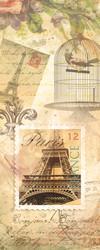 Наклейки Коллаж. Париж