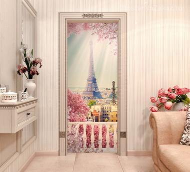Наклейка Нежность Парижа