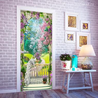 Наклейка Цветущий сад