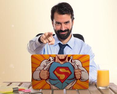 Наклейка Ты Супермен!