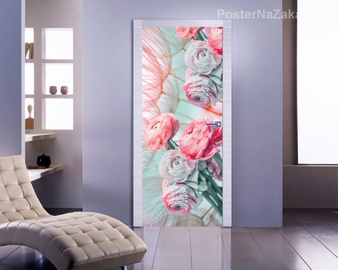 Наклейка Бутоны роз