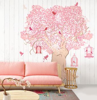 Наклейка Дерево романтики