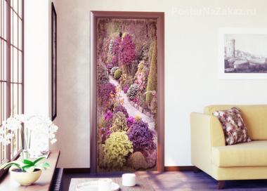 Наклейка Цветочный сад