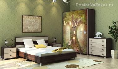 Наклейка Сказочное дерево