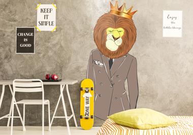 Наклейка Король лев