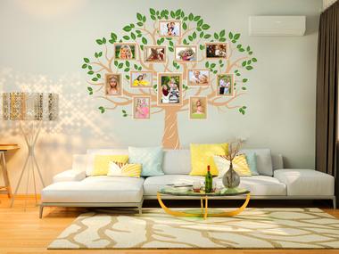 Наклейка Семейное дерево