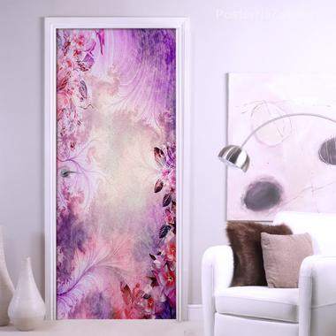 Наклейка Абстракция из цветов