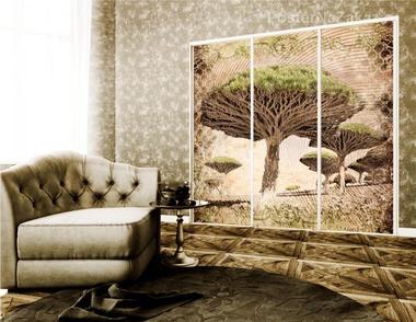 Наклейка Баобабовое дерево