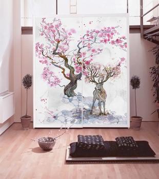 Наклейка Цветение сакуры