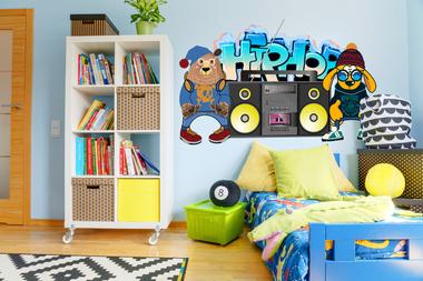 Наклейка Хип хоп Животные
