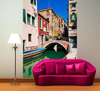Фотообои на стену Деревянный мост