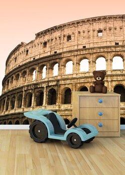 Фотообои на стену Дождливый Рим
