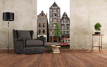 Фотообои Дома Амстердама