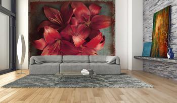 Фотообои Яркие лилии