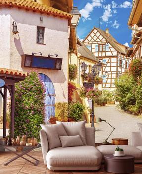 Фотообои Уютная улочка Испании