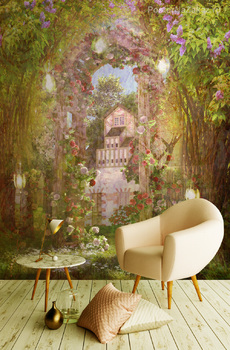 Фотообои на стену Китайский сад