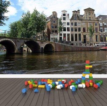 Фотообои Водный Амстердам