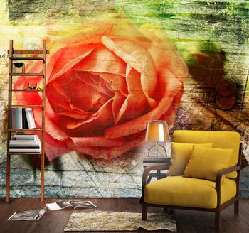Фотообои Красочная роза