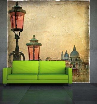 Фотообои на стену Гондолы на закате