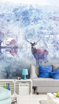 Фотообои Зимняя сказка