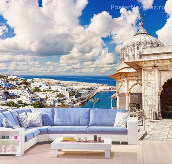 Фотообои Остров Миконос в Греции