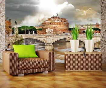 Фотообои Достопримечательности Рима. Замок Святого Ангела