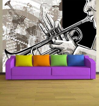 Фотообои на стену jazz band