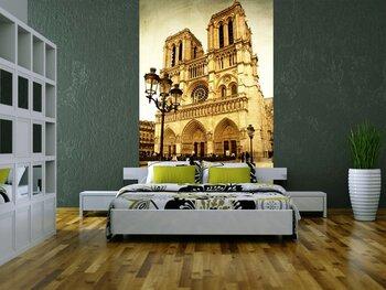 Фотообои на стену Париж. Вечерняя прогулка на катере