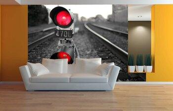 Фотообои Сигнал поезда