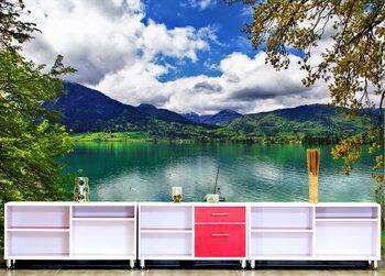 Фотообои Кристалл изумруда в Альпийских озерах.