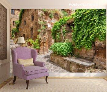 Древний город в Тоскане