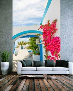 Фотообои Греция Остров Санторини в Киклады, традиционные достопримечательности