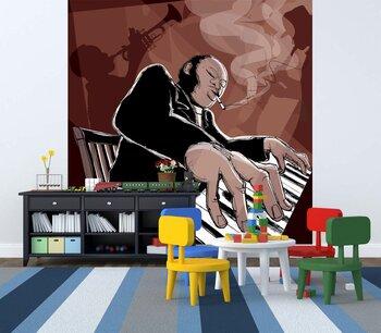 Фотообои на стену саксофонист