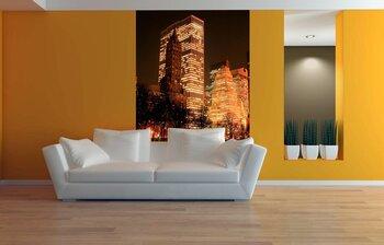 Фотообои на стену Симметрия ночного города