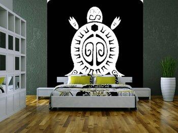 Фотообои на стену Гравюра с изображением царя зверей