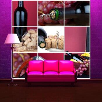 Фотообои Коллаж вина