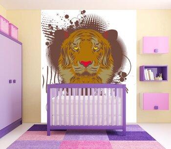 Фотообои на стену Тигр