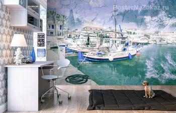 Рыболовные суда в порту Ликсури