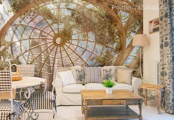 Фотообои Стеклянный купол