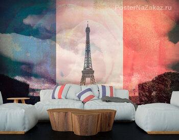 Фотообои Привет Париж