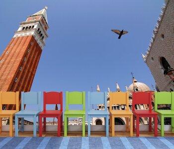 Фотообои на стену Венеция,канал,Италия