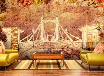 Фотообои Альберт мост. Лондон