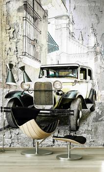 Фотообои Old retro car