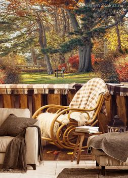 Фотообои Вид на осень