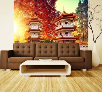 Фотообои на стену Красочный сад