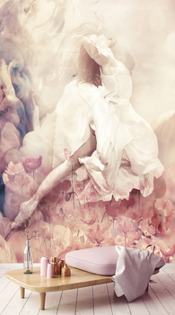 Фотообои Парящая балерина