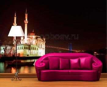 Фотообои Ночной Стамбул