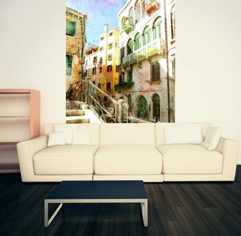 Фотообои на стену Гондола в Венеции